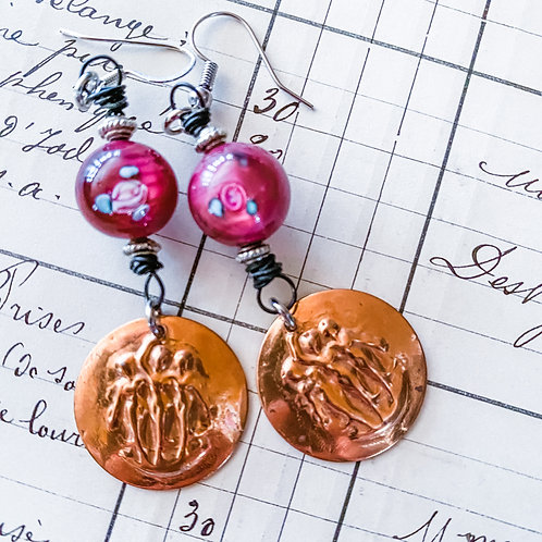 Three Graces Earrings