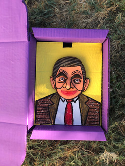 MR BEAN IN PURPLE BOX