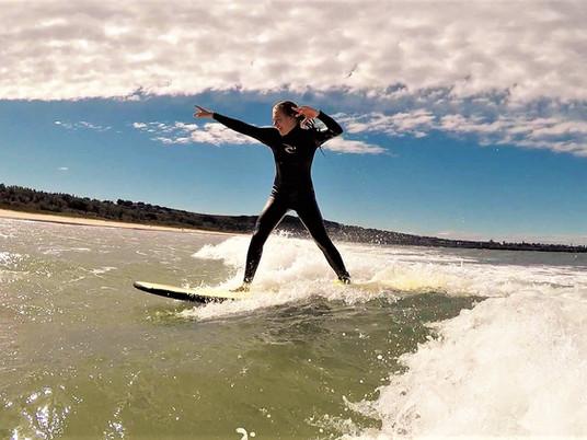 Hannah's Surf Camp Experience!
