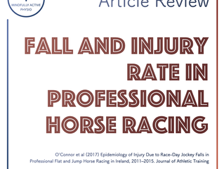 Fall and Injury rate in horse racing