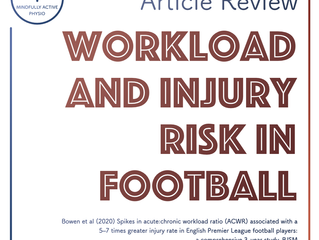 Workload and Injury Risk in Football