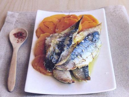 Makreel - zeewier - wasabi