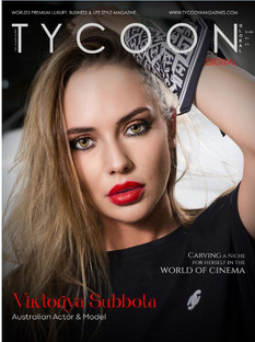 Tycoon Magazine Cover June 2021