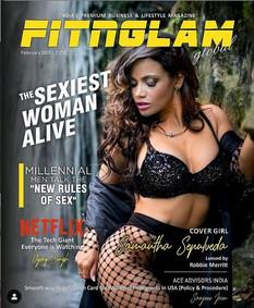 Cover Fitglam with Celebrity Model Samantha Sepulveda