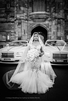 Bridal with Unique Wedding Cars