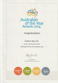 Nominated Australian of the Year 2014