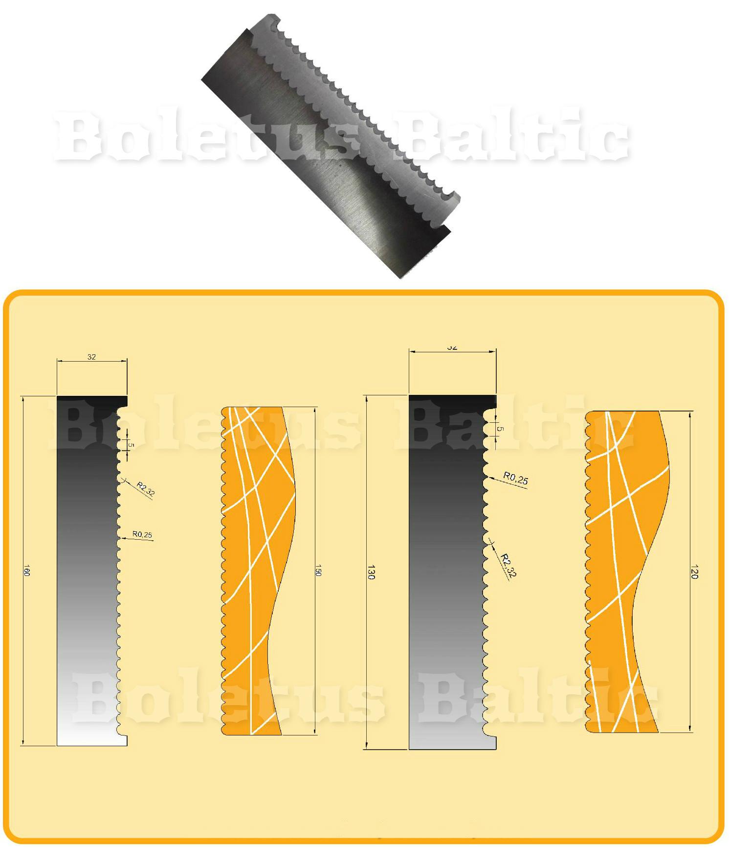 Profils naži ar 3mm un 8mm