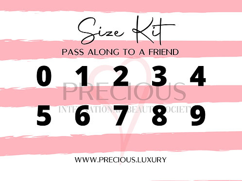 Nail Sizing Kit