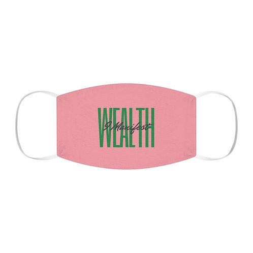 I Manifest Wealth Pink & Green