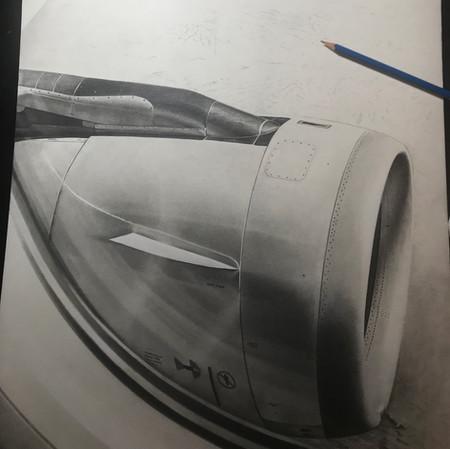 Airbus over Sonora