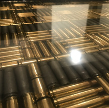 Bullet Casing Coffee Table