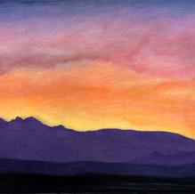 Sunrise at Four Peaks