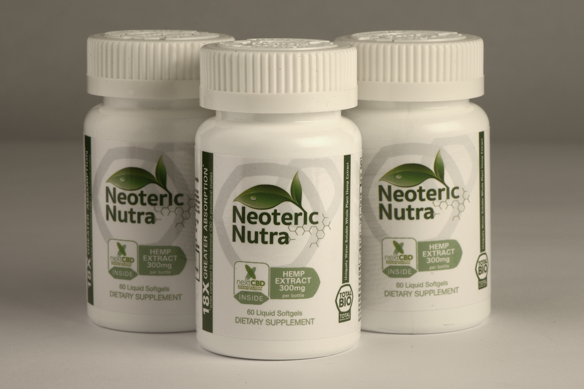 CBD Hemp Oil Softgels | Neoteric Nutra
