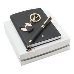 Kit caderno, chaveiro e Caderno.