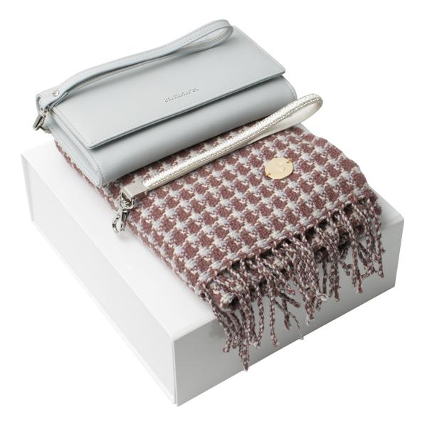 Kit carteira e cachecol