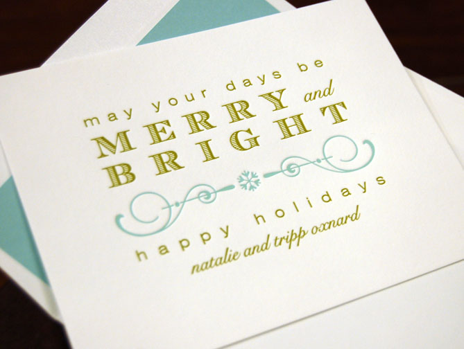Merry and Bright Greeting