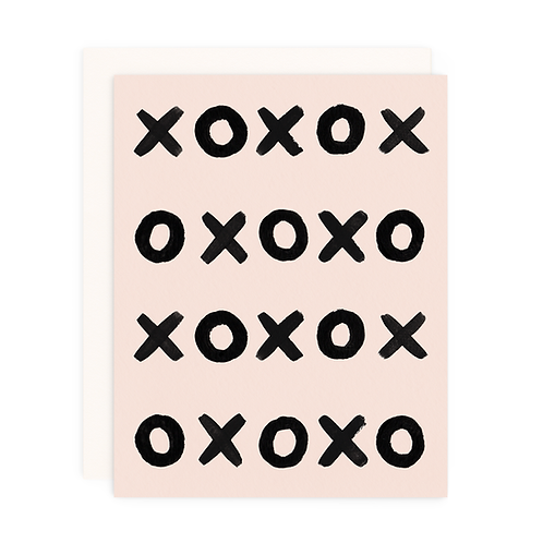 XO INFINITY GREETING CARD