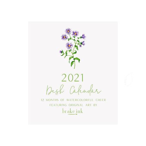 2021 DESK TOP CALENDAR
