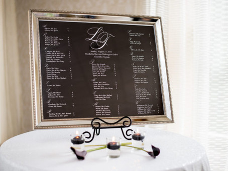 SEATING ETIQUETTE - ESCORT CARDS vs PLACE CARDS