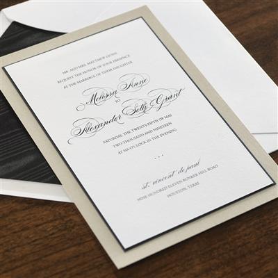 Three Layer Invitation