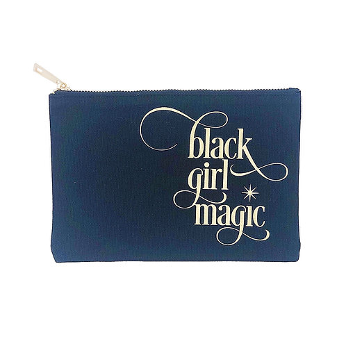 BLACK GIRL MAGIC MAKEUP BAG