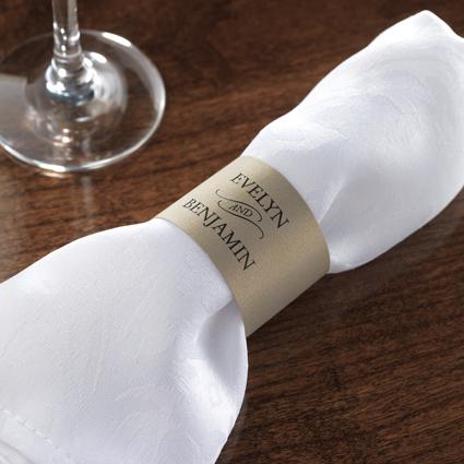 Custom Napkin Wraps