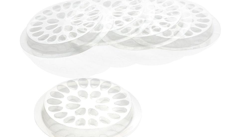 Plastic glue pad
