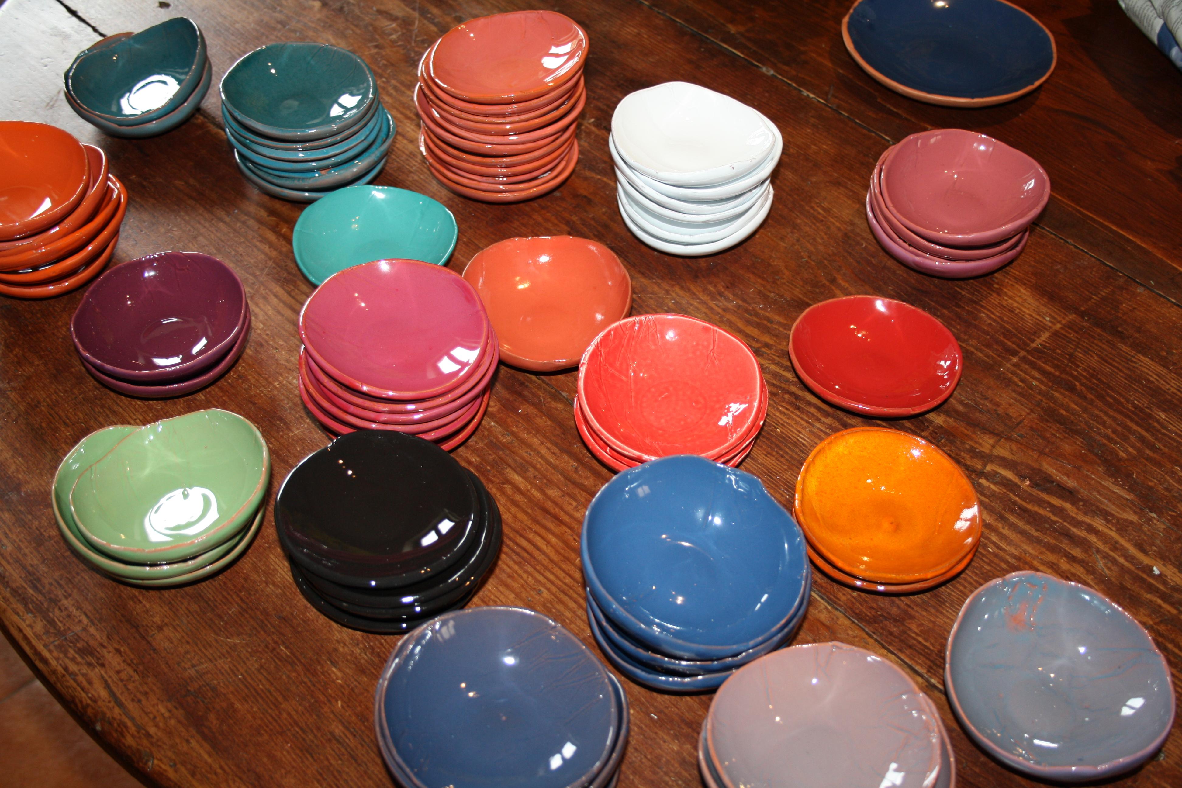 Coupelles couleurs