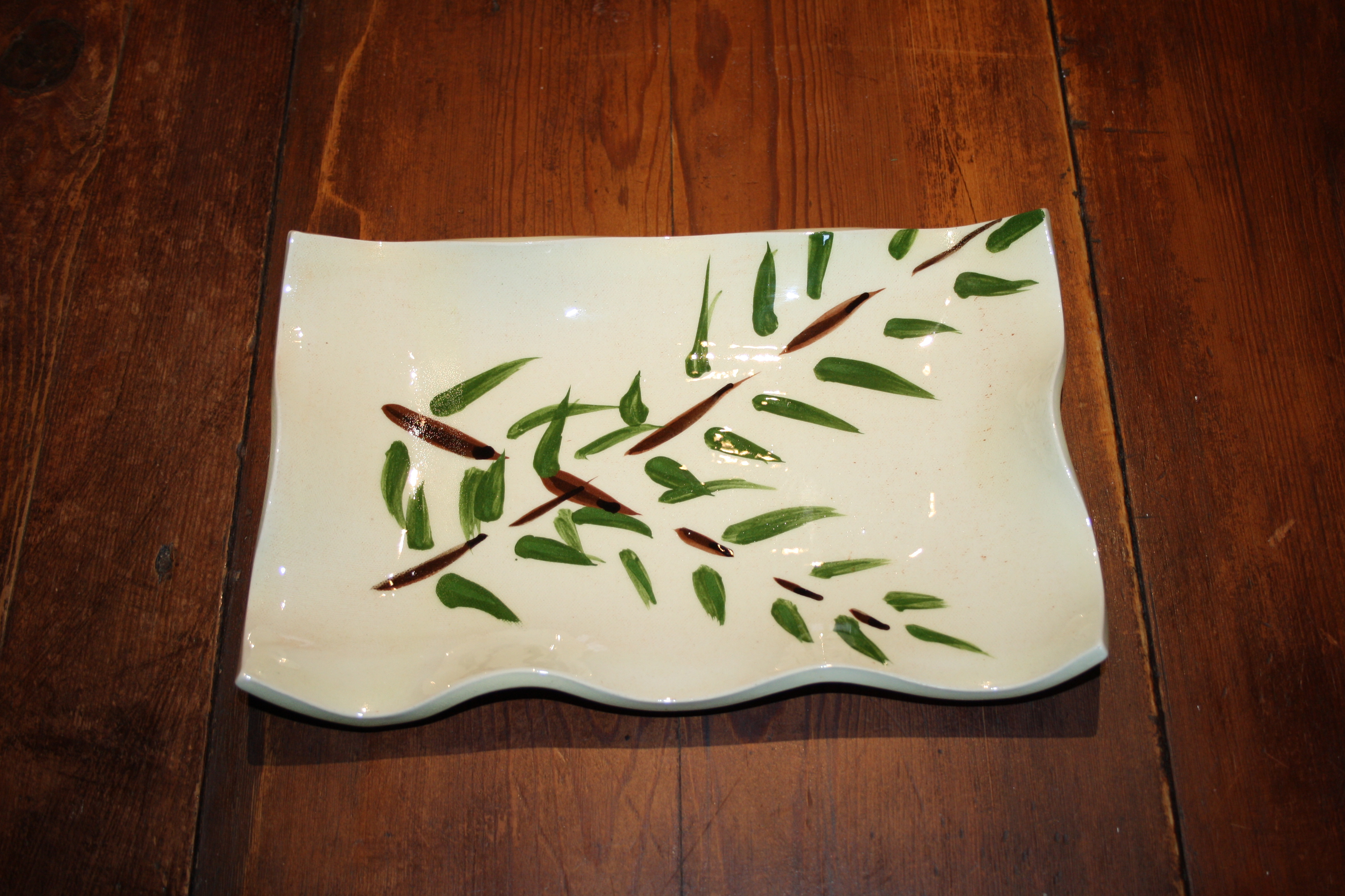 Petit plat cake bambou