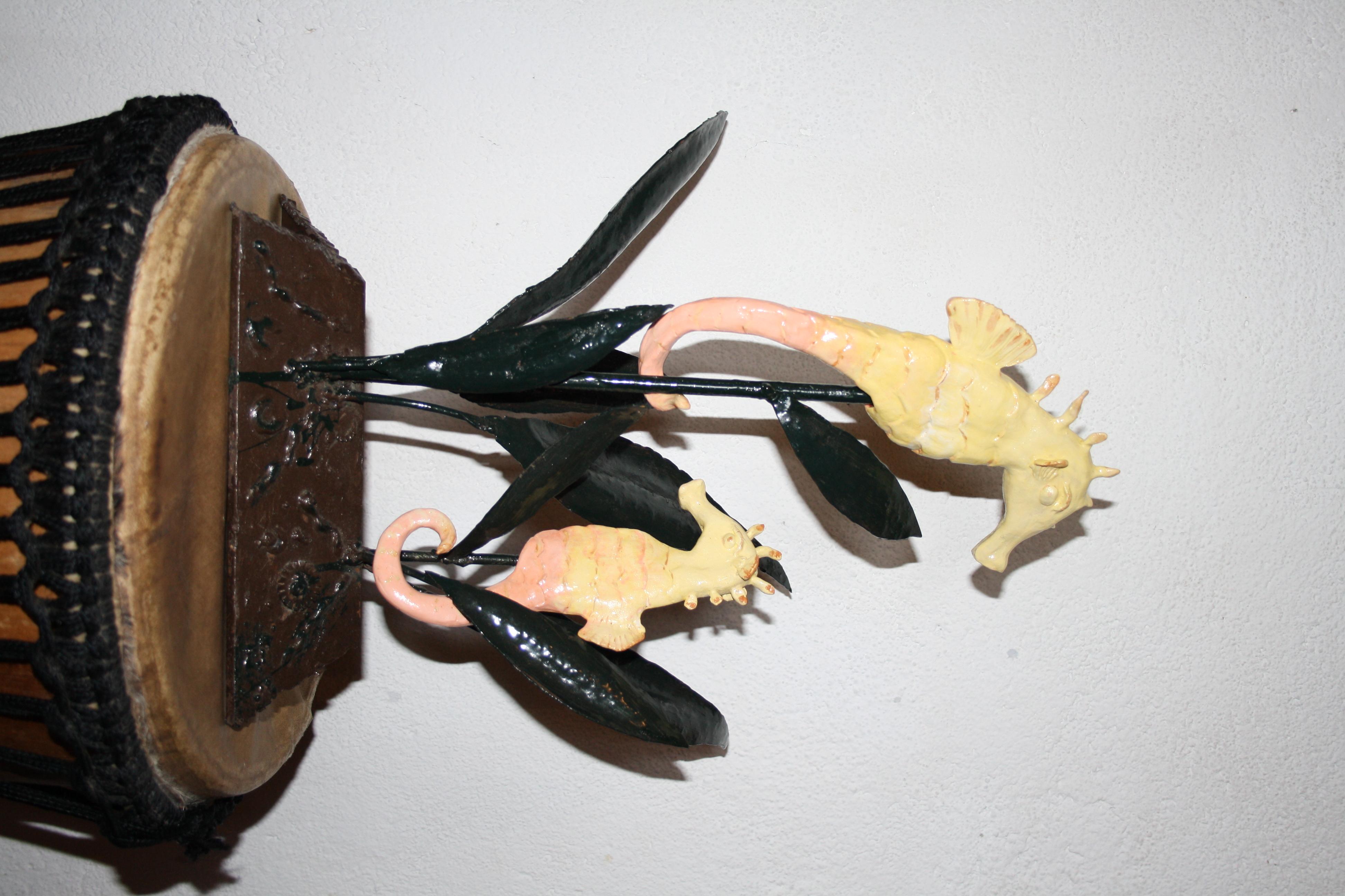 Hippocampes en céramique - La Lézard