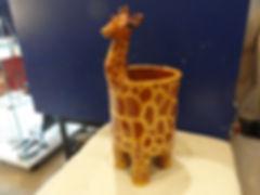 Pot girafe en céramique - La Lézarde