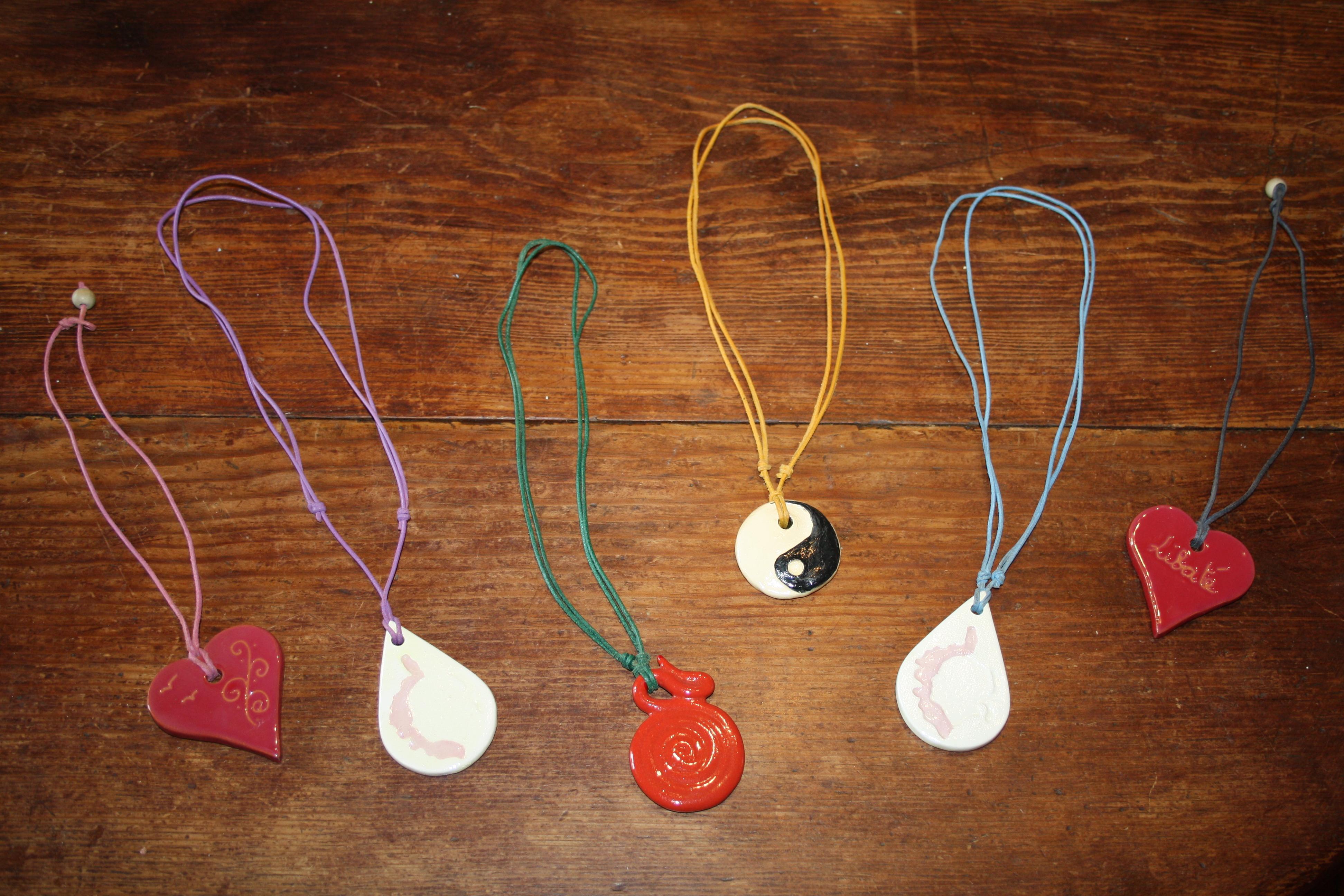 Colliers céramique - La Lézarde