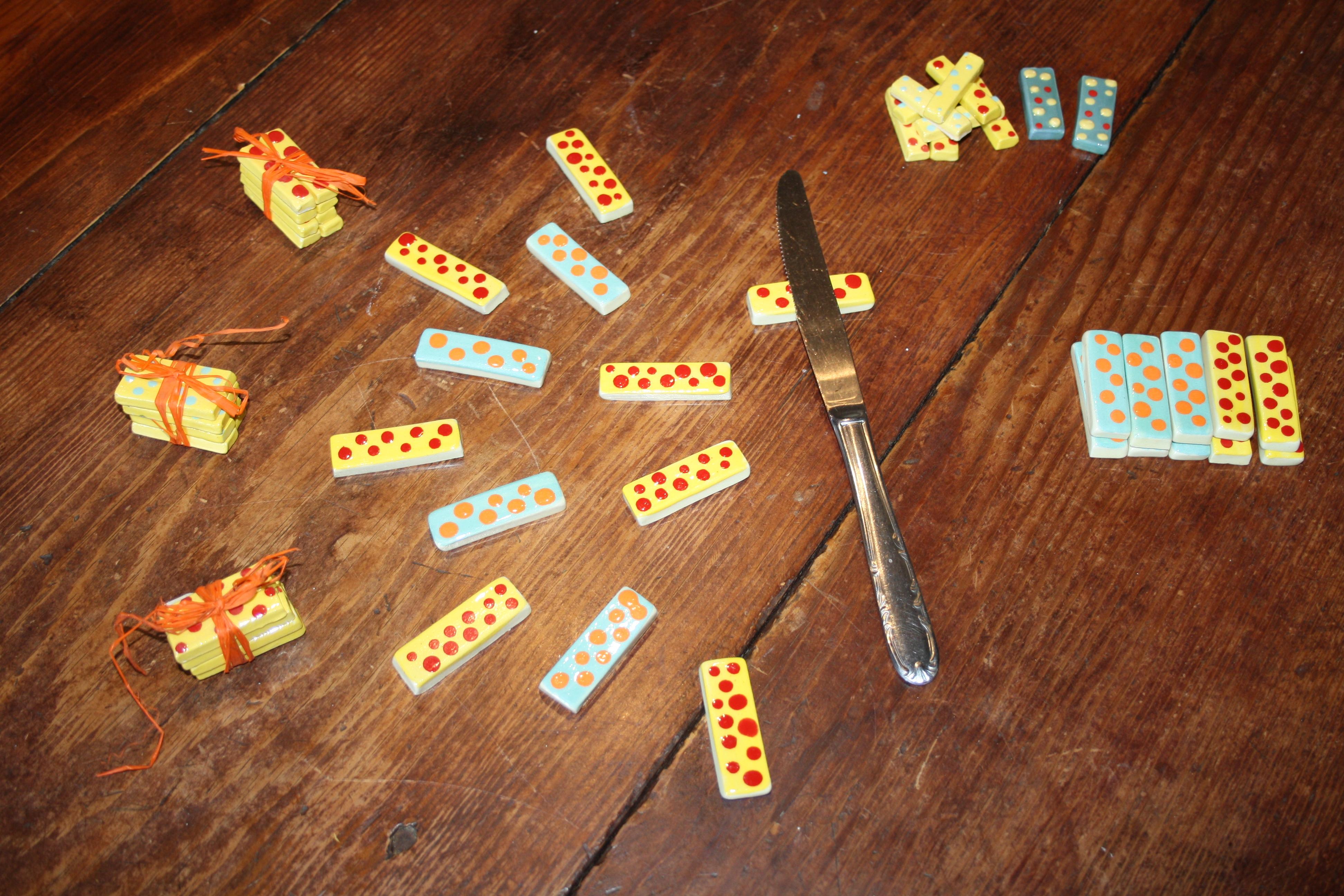 Portes couteaux céramique-La Lézarde