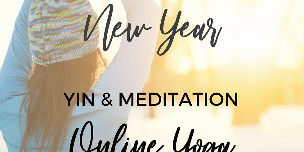 A Yin-Tentional New Year - Yin Yoga & Meditation ONLY