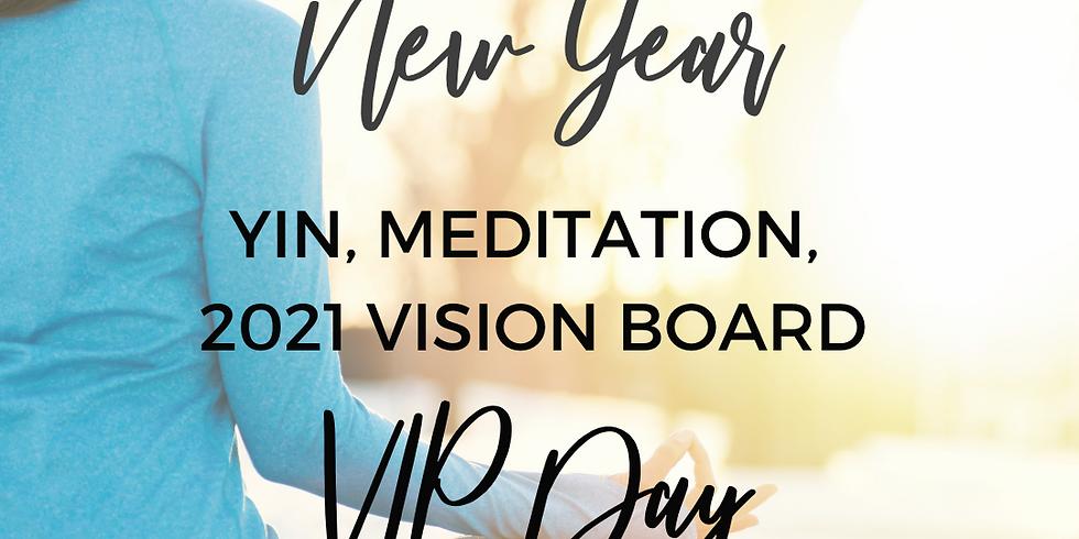 BUNDLE & SAVE: A Yin-Tentional New Year - Yin, Meditation & Vision Board Workshop