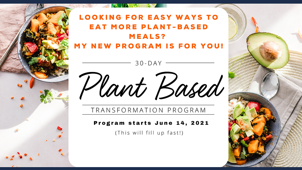 30 Day Plant Based Transformation