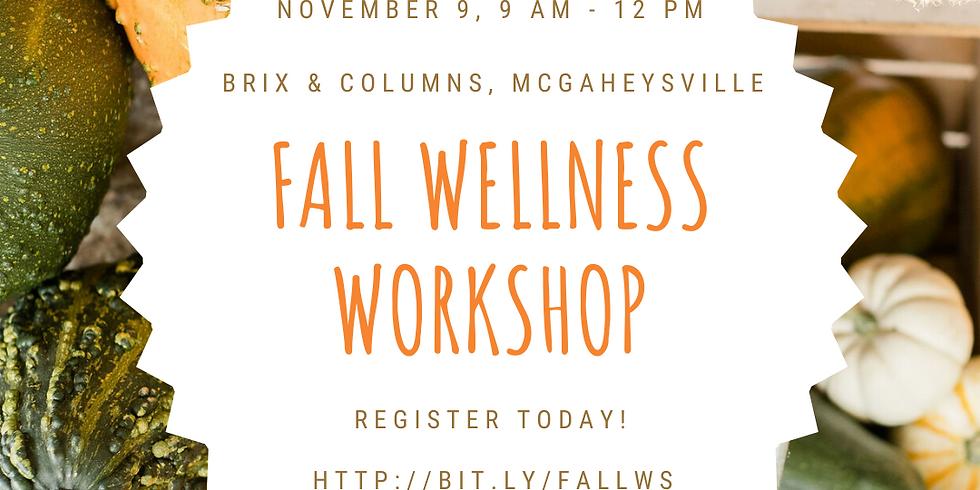 Fall Wellness Workshop