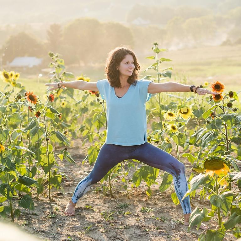 Live & Online Yoga & Wine at Brix & Columns