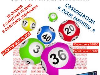 """Loto de l'association """"Pour Mathieu"""""""