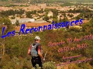 Reconnaissance de l'Aurélien Trail : Dimanche 10 avril 2016