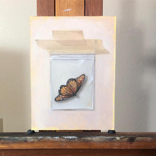 """Wabi Sabi Butterfly"""