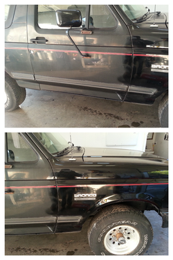 5 stage paint correcting treatment