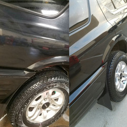 Before & After Buff/Wax