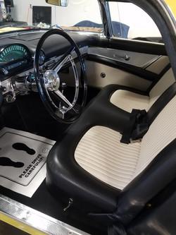 1956 Thunderbird Executive Detail