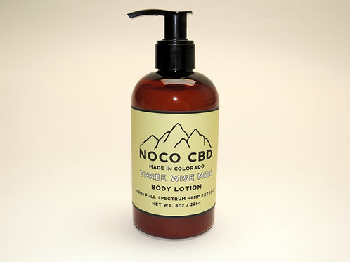 Three Wise Men 600mg CBD Body Lotion