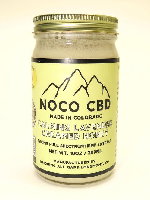 Calming Lavender Creamed Honey 1200mg CBD