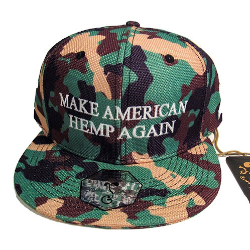 Grassroots California Hemp Snapback for Veteran Awareness