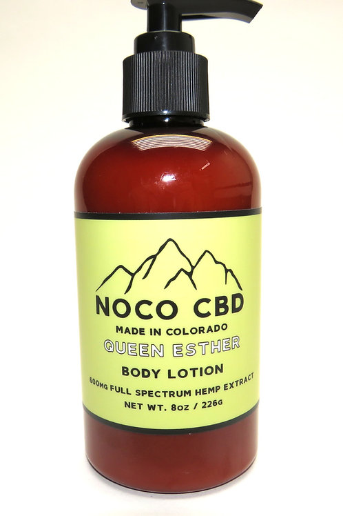 Queen Esther 600mg CBD Body Lotion