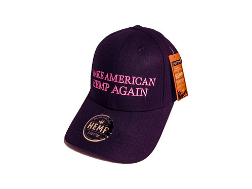 Breast Cancer Awareness Hemp Dad Hat by Chiefton Supply
