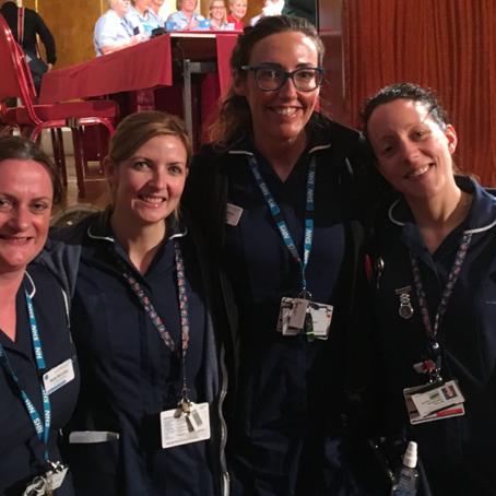 Liverpool Royal Nurses Talk Fluid Balance